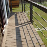 Террасная доска для напольного покрытия балкона
